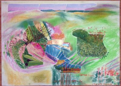 """Collage """"Meine innere Welt und ich"""""""