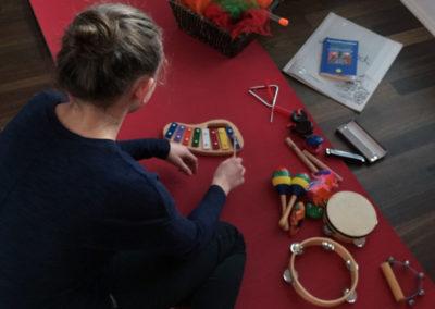 Einsatz von Musikinstrumenten