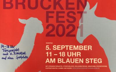 Brückenfest am blauen Steg in Rödelheim am 5. September