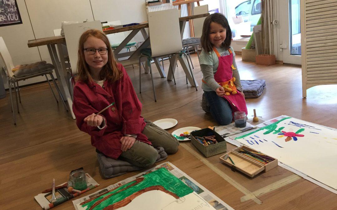 Rückblick: Einwöchiges Kreativprogramm in den Weihnachtsferien 2017/18