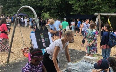 Brückenfest 2019 am blauen Steg