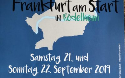 "Antistressprogramm am 21. September 2019: ""Frankfurt am Start"" in Rödelheim"