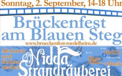 Brückenfest 2018 am blauen Steg